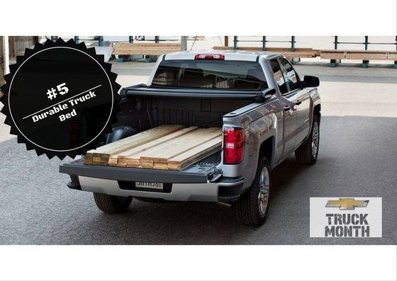 Top Ten Reasons To Drive A Chevy Silverado 5 Durable Truck Bed