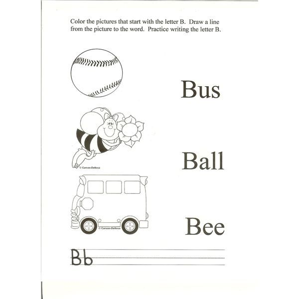 4 Activities For Letter B Ideas For The Preschool Classroom Teaching Letter Recognition Letter B Teaching Letters Letter b activities for preschoolers