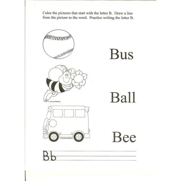 b preschool worksheets letter b activities