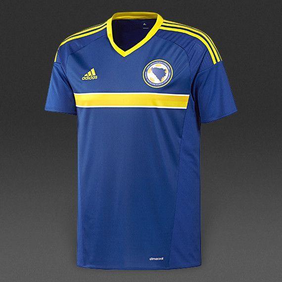 6c98be8a9 Bosnia Herzegovina Euro 2016 Home Men Soccer Jersey   Team jerseys ...