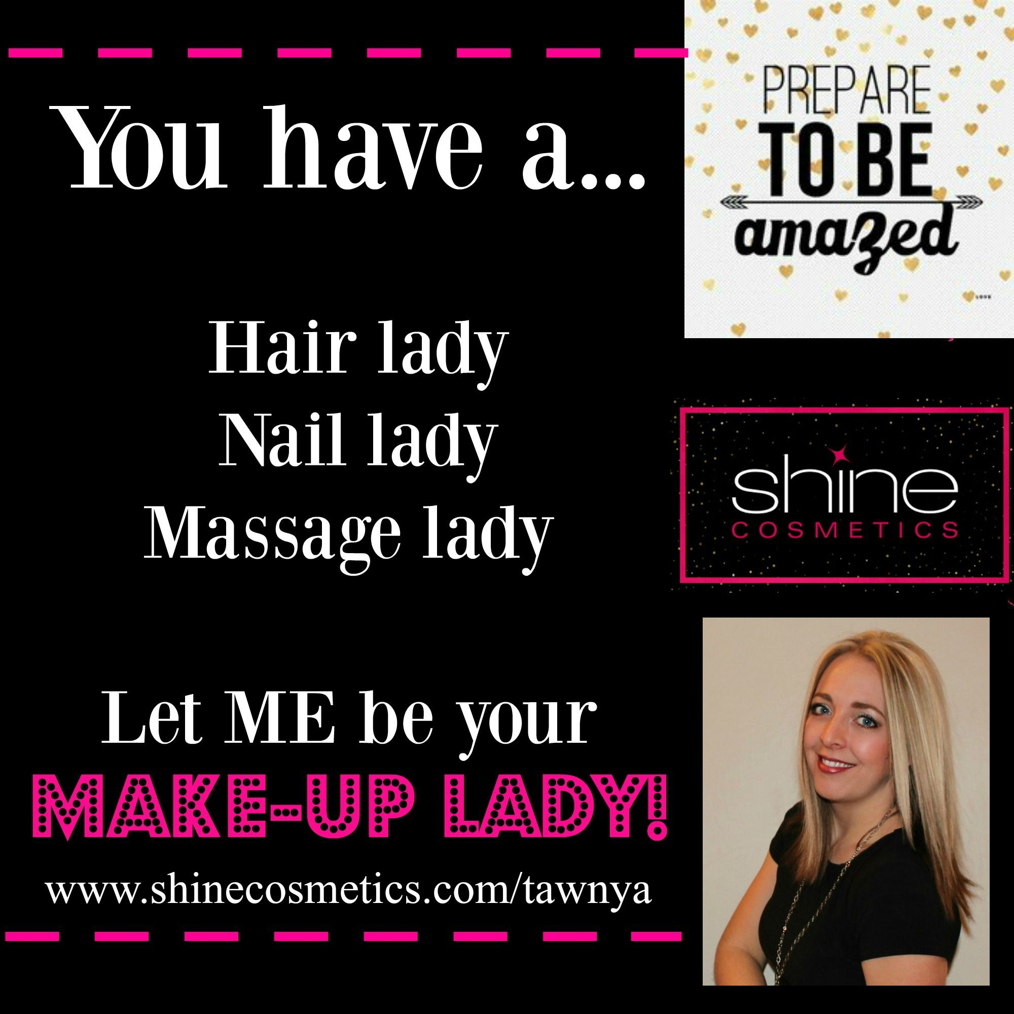 Shine Cosmetics Brand new company with the BEST makeup