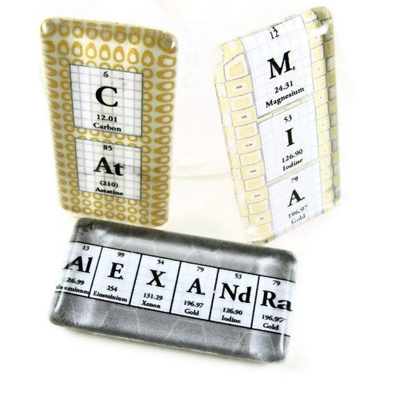 Periodic table jewelry personalized glass by shopgibberish on etsy periodic table jewelry personalized glass by shopgibberish on etsy 1400 urtaz Images