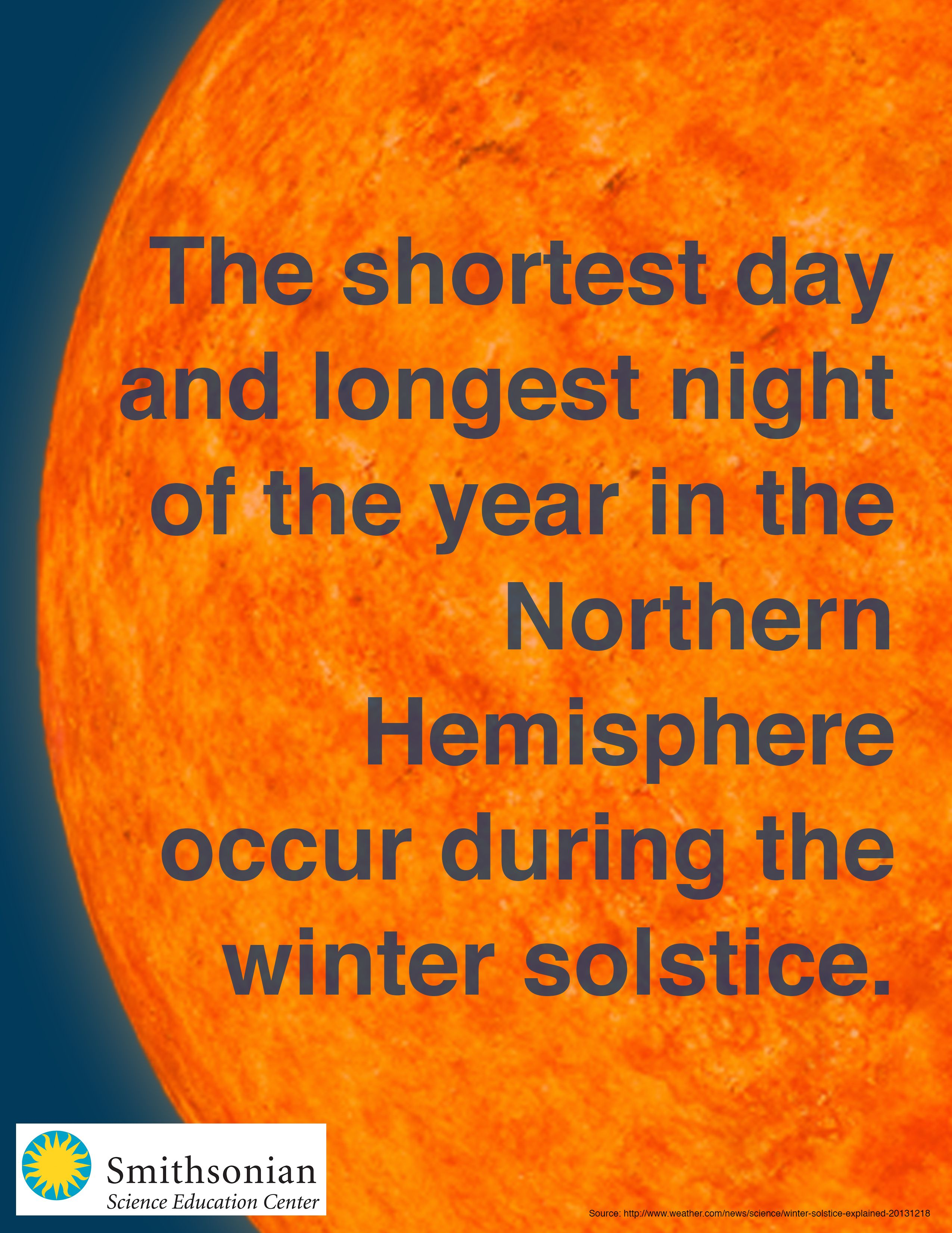 Interesting facts about the winter solstice