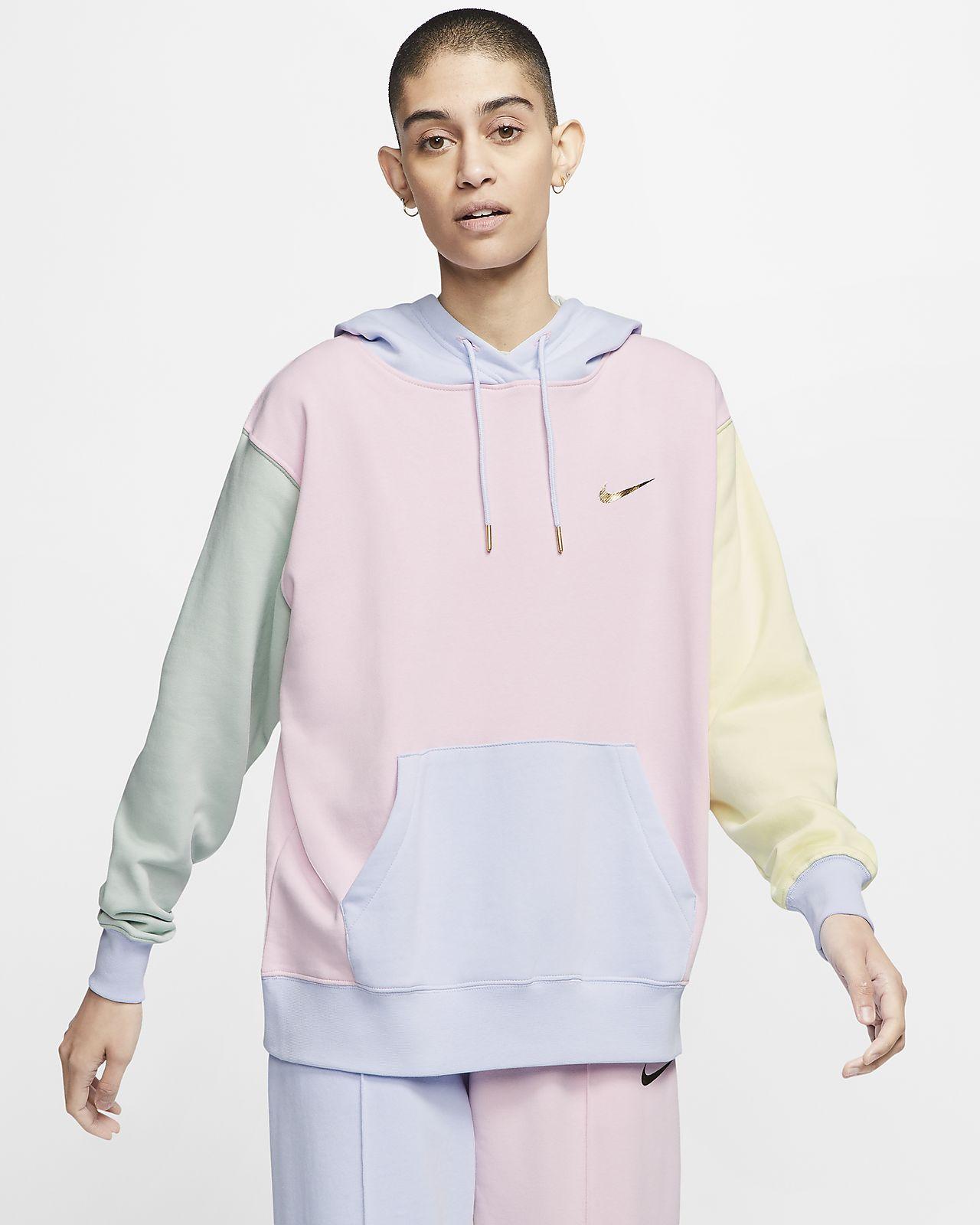 Nike Sportswear Women S Swoosh Pullover Hoodie Nike Gb Nike Sportswear Women Nike Hoodie Outfit Nike Long Sleeve [ 1600 x 1280 Pixel ]
