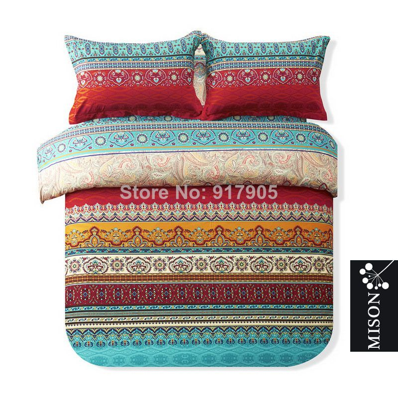 Best Fashion Bohemian Comforter Bedding Sets Luxury Boho 640 x 480