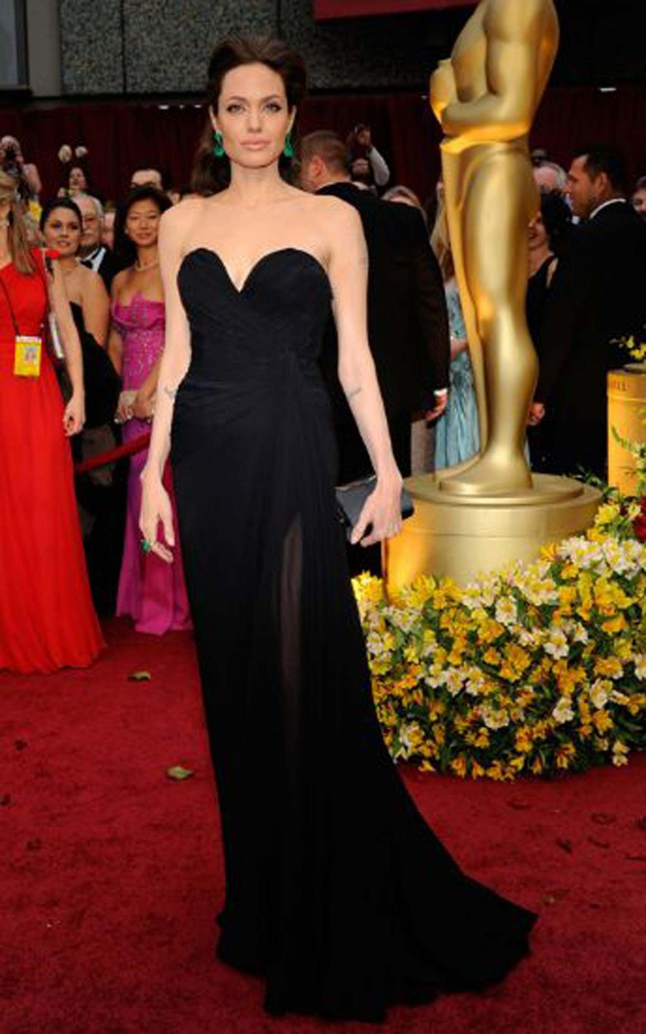 Angelina Jolie Prom Dress