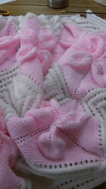 Baby blanket ..almost done .
