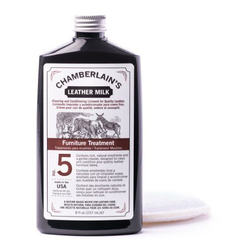 Chamberlain S Leather Milk 8oz Furniture Treatment No 5 Best Cleaner And Conditioner For Quality Our Couch Stools