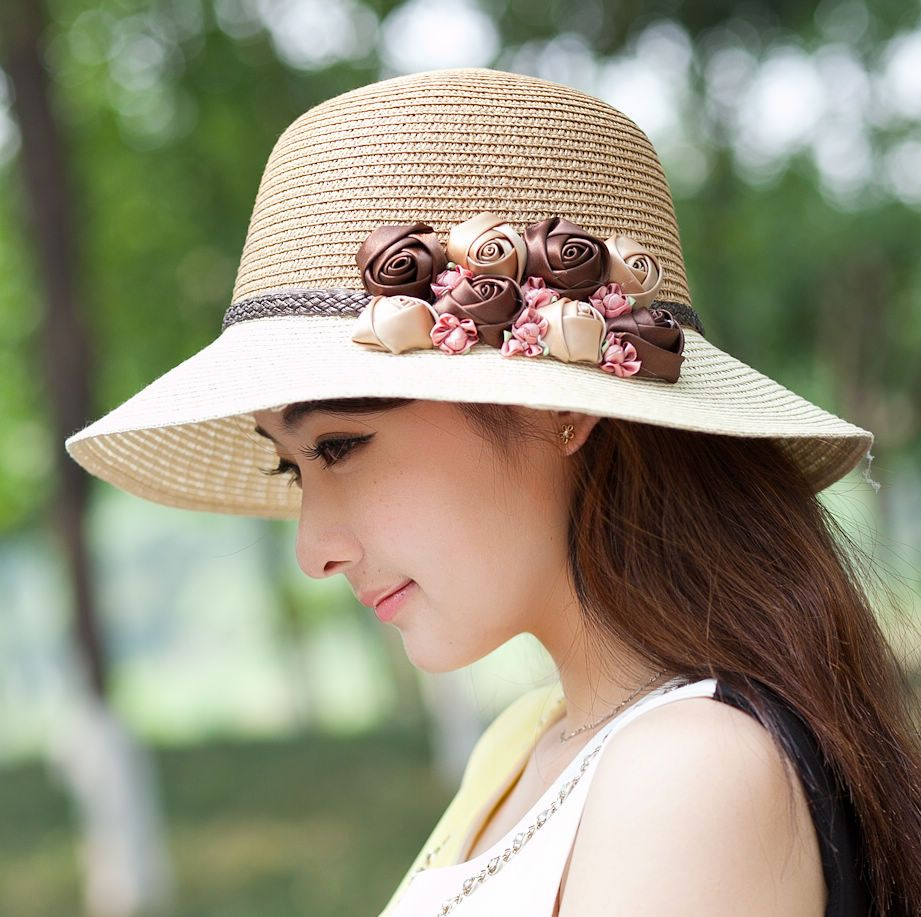 c3cd6c570ce Pin by Online Marketing on STYLISH HATS FOR WOMEN IN SPRING ...