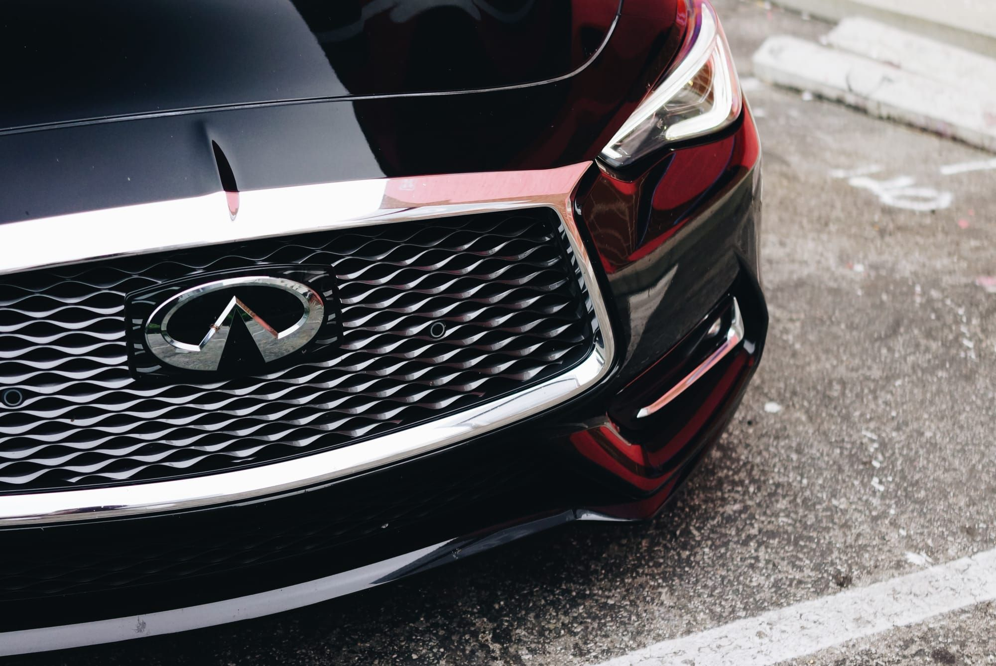 Infiniti S Q60 Red Sport Points Their Performance Line In The Right Direction In 2020 Infiniti Sports Infiniti Q50 Sport