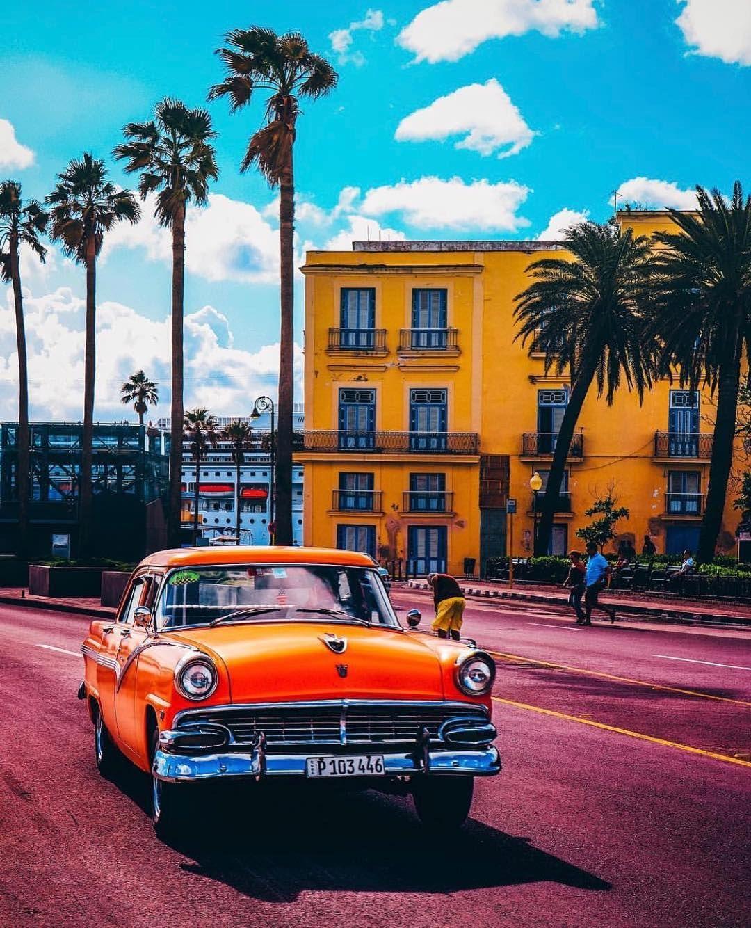 Обои куба, havana, ночь, Old Havana, Гавана. Города foto 11