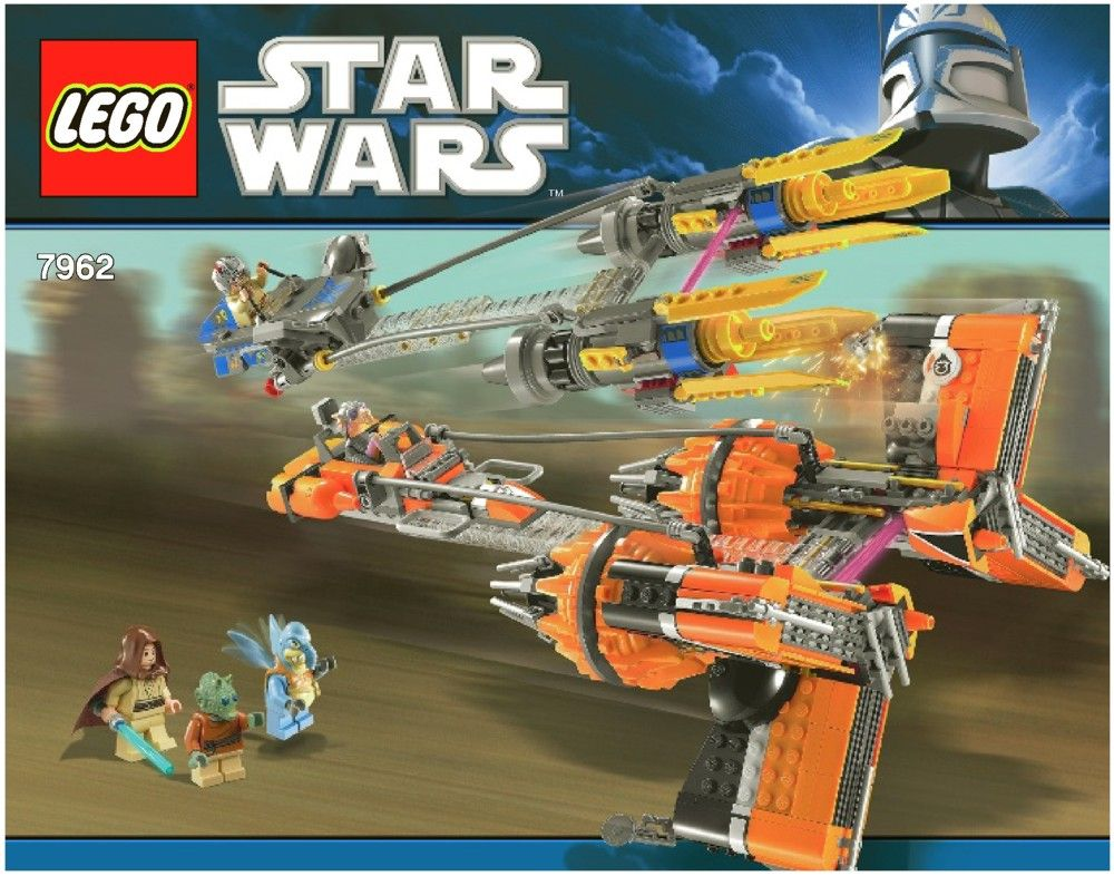 Star Wars - Anakin Skywalker and Sebulba's Podracers [Lego 7962 ...
