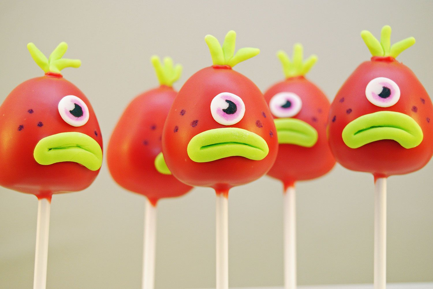 Moshi Monster Cake Pops