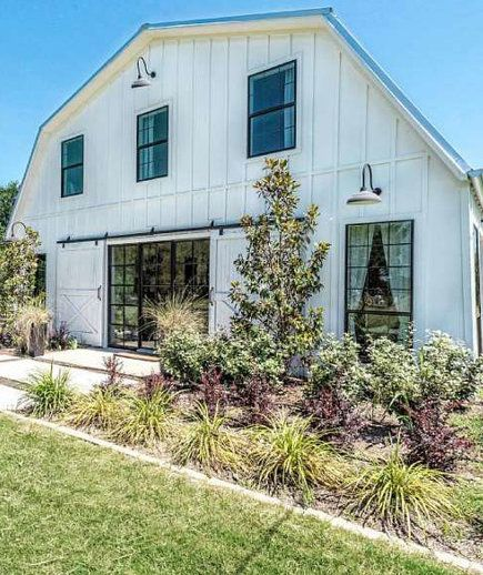 """Once a working barn, this """"barndominium"""" was transformed from an attic apartment with horse stalls to a 2,700-square-foot home. The one-of-a-kind house, which was featured in season three, includes five bedrooms, two full bathrooms, a large dining hall, and an outdoor balcony."""