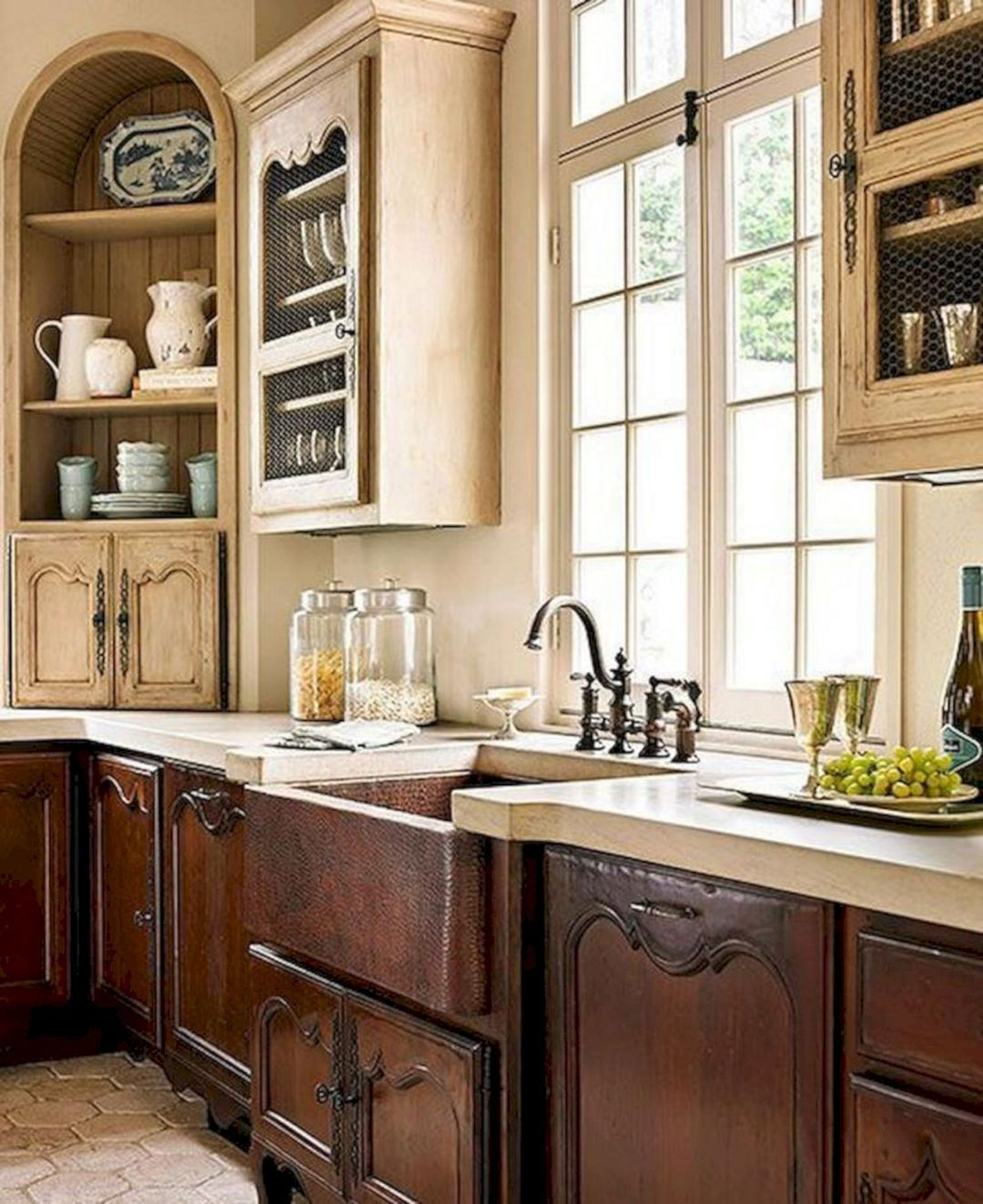 12+ Beautiful Simple French Country Kitchen Ideas For Small Space #frenchcountrykitchens