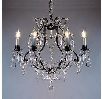 Gallery T40 427 Iron Chandeliers Wrought Iron Chandeliers Crystal Chandelier