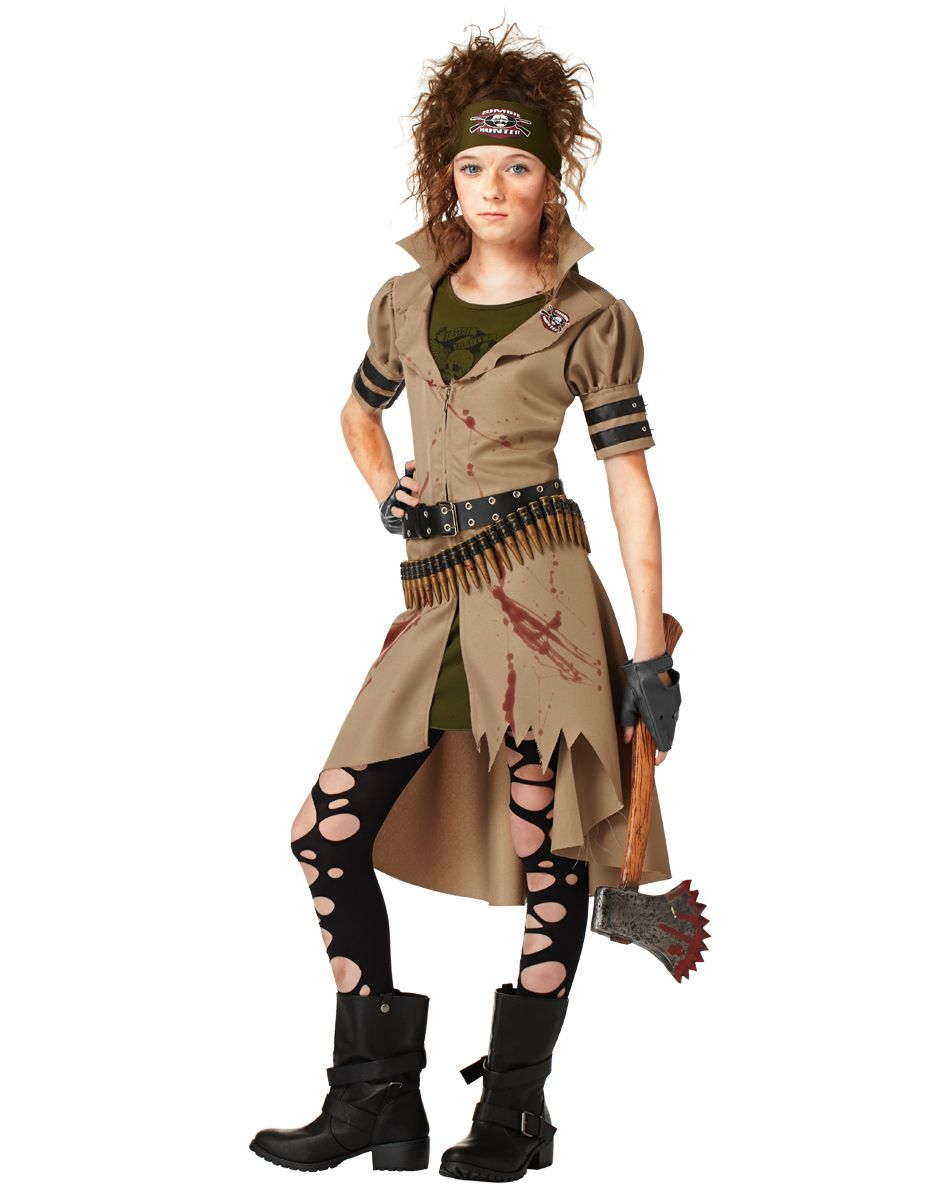 Zombie Hunter Girls Costume exclusively at Spirit Halloween - You ...