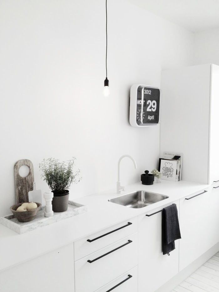 Kitchen Renovation Ideas On White Wood Marble Kuche