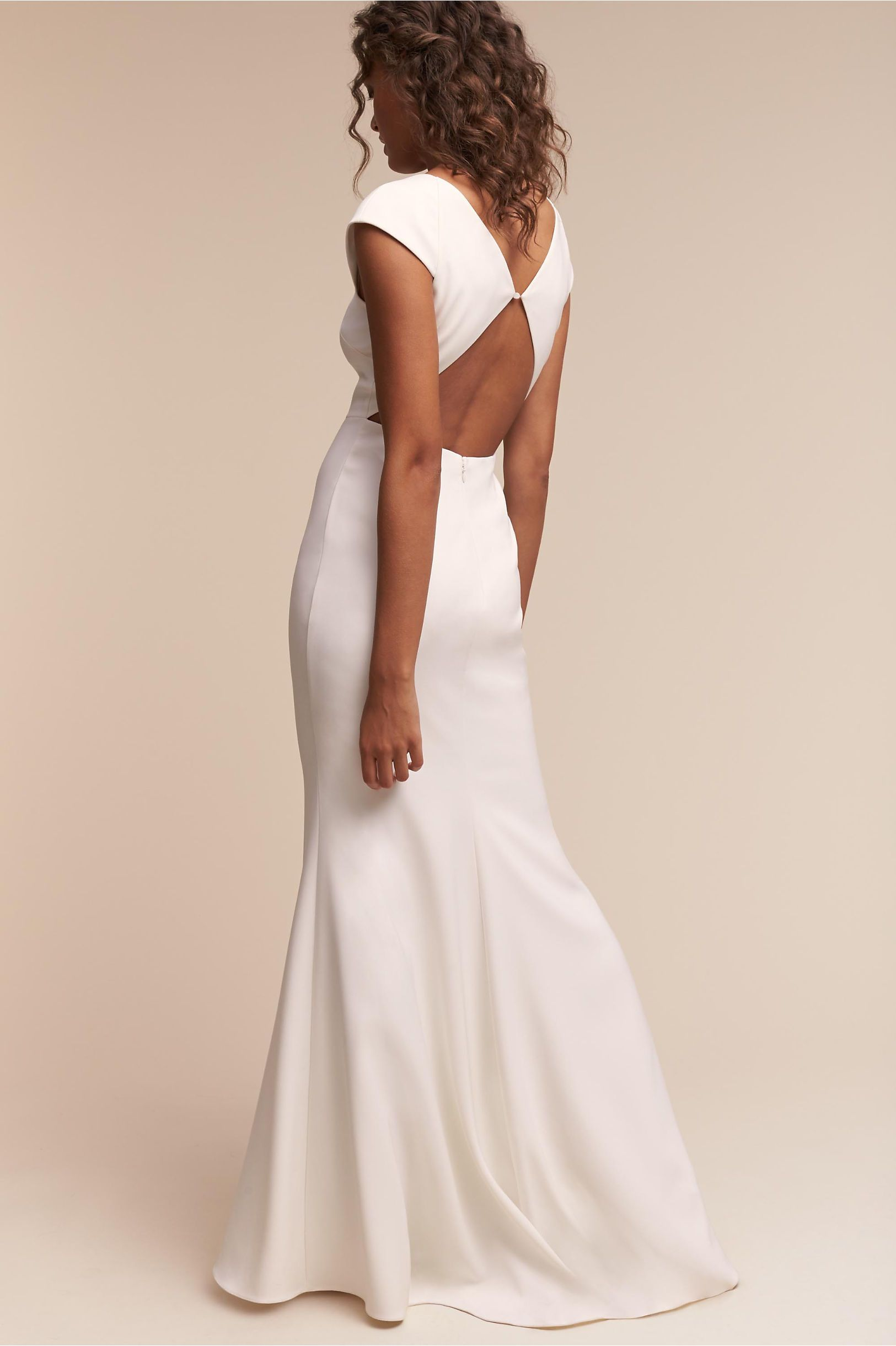 BHLDN\'s Badgley Mischka Sawyer Gown in Ivory | casamento na praia ...