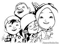 Boboi Boy Coloring Pages Boboiboy Coloring Pages For Boys