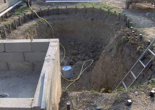 Plan du0027exécution du0027une bâche à eau - coffrage et ferraillage cours - assainissement d une maison