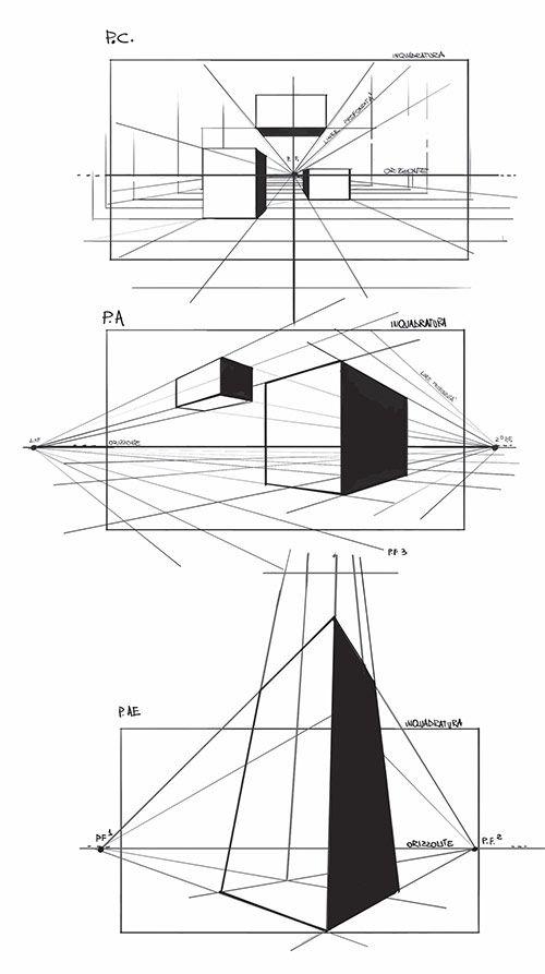 Prospettiva1 nel 2019 disegno prospettico arte for Disegnare progetti