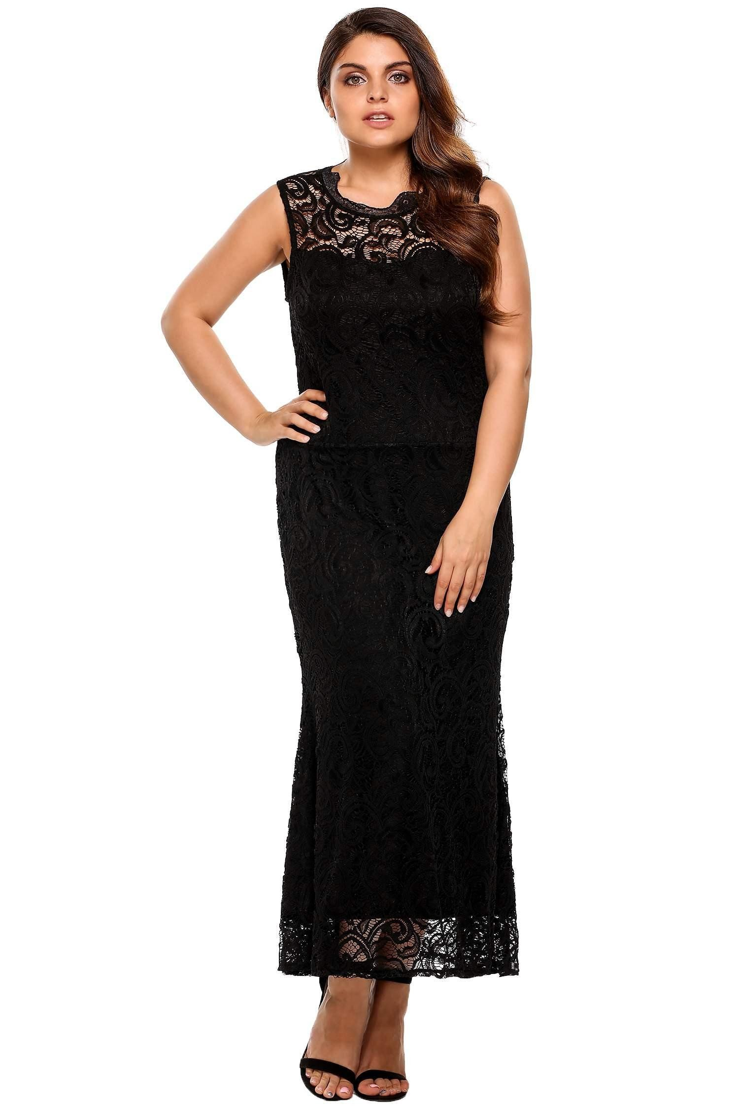 new plus size sleeveless backless lace evening dress products
