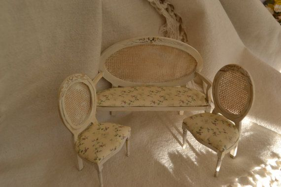 Trío de sillones