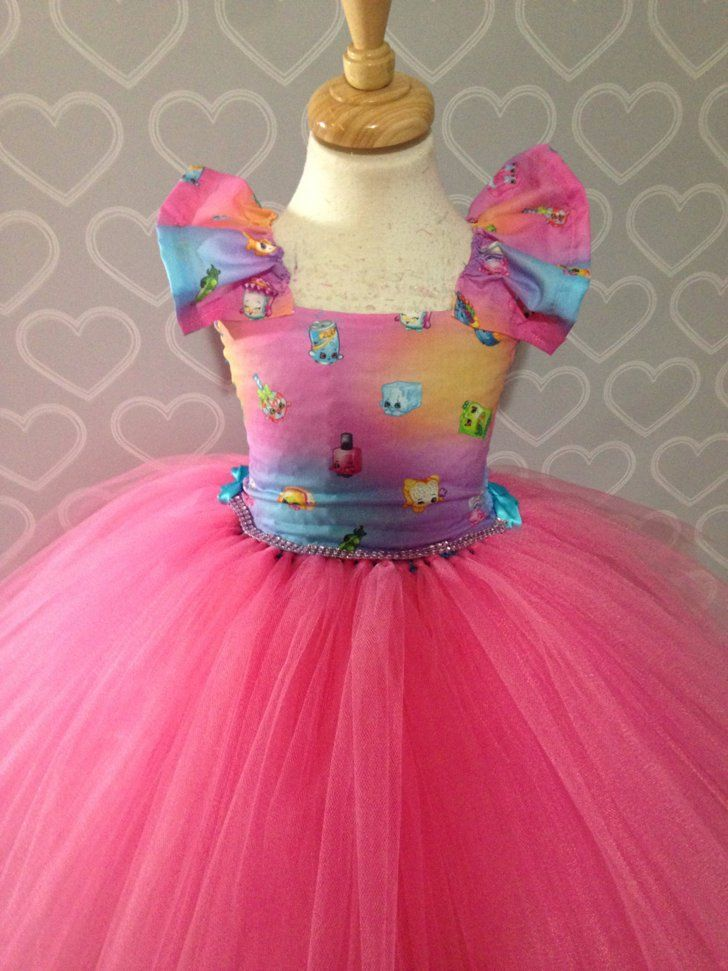 New Toddler Girl Sweet Cupcake Ballet Tutu Dress Halloween Costume Size 3T 4T