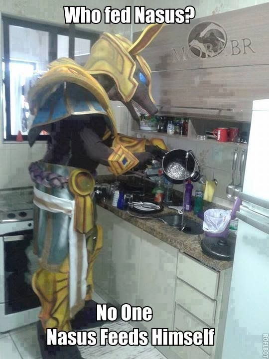 Nasus Knows How To Cook League Of Legends League Memes Lol League Of Legends