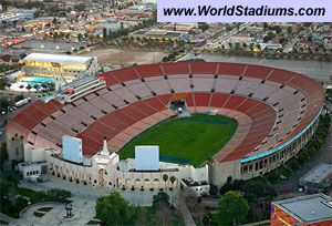 Memorial Coliseum In Los Angeles Los Angeles California Los Angeles Rams
