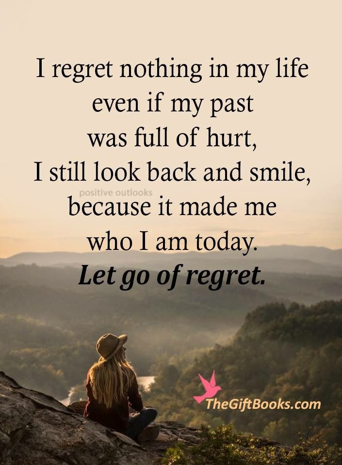 Pin by Erin Guerra on Words To Live By | Regret quotes, Life