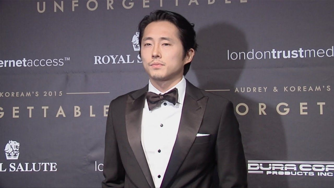 """Steven Yeun """"Unforgettable Gala 2015"""" Arrivals in Los Angeles"""