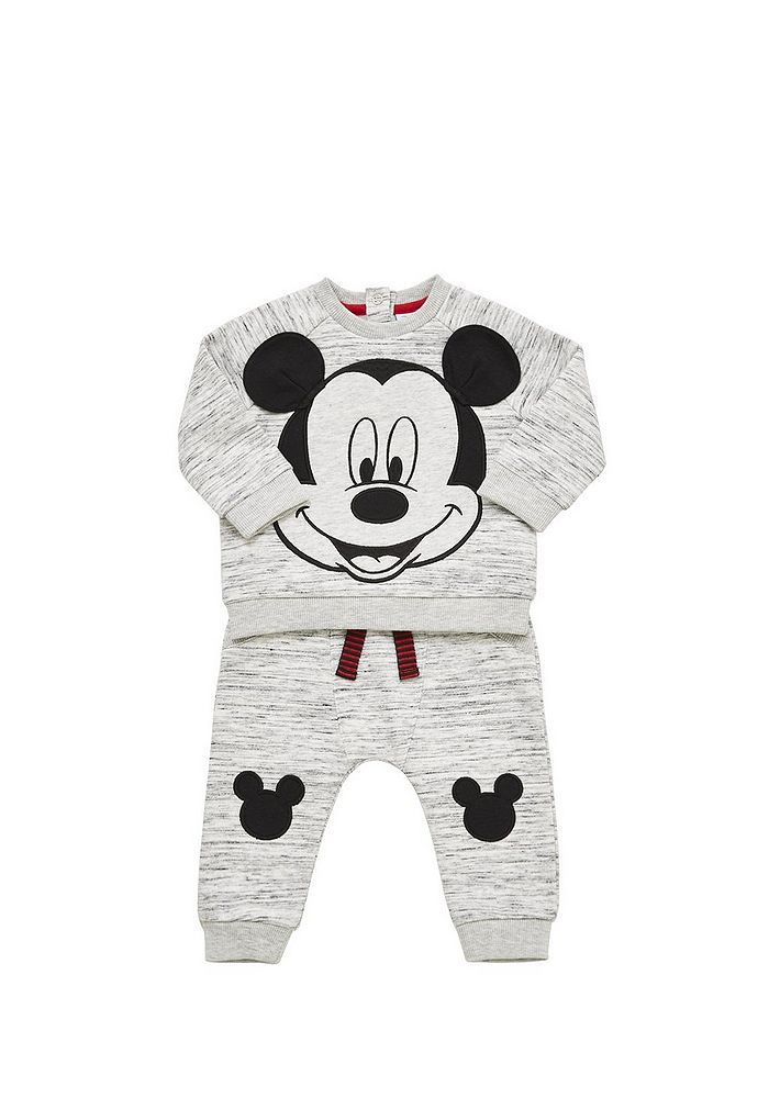 e5c1aa35b Tesco direct: Disney Baby Mickey Mouse Sweatshirt and Joggers Set ...