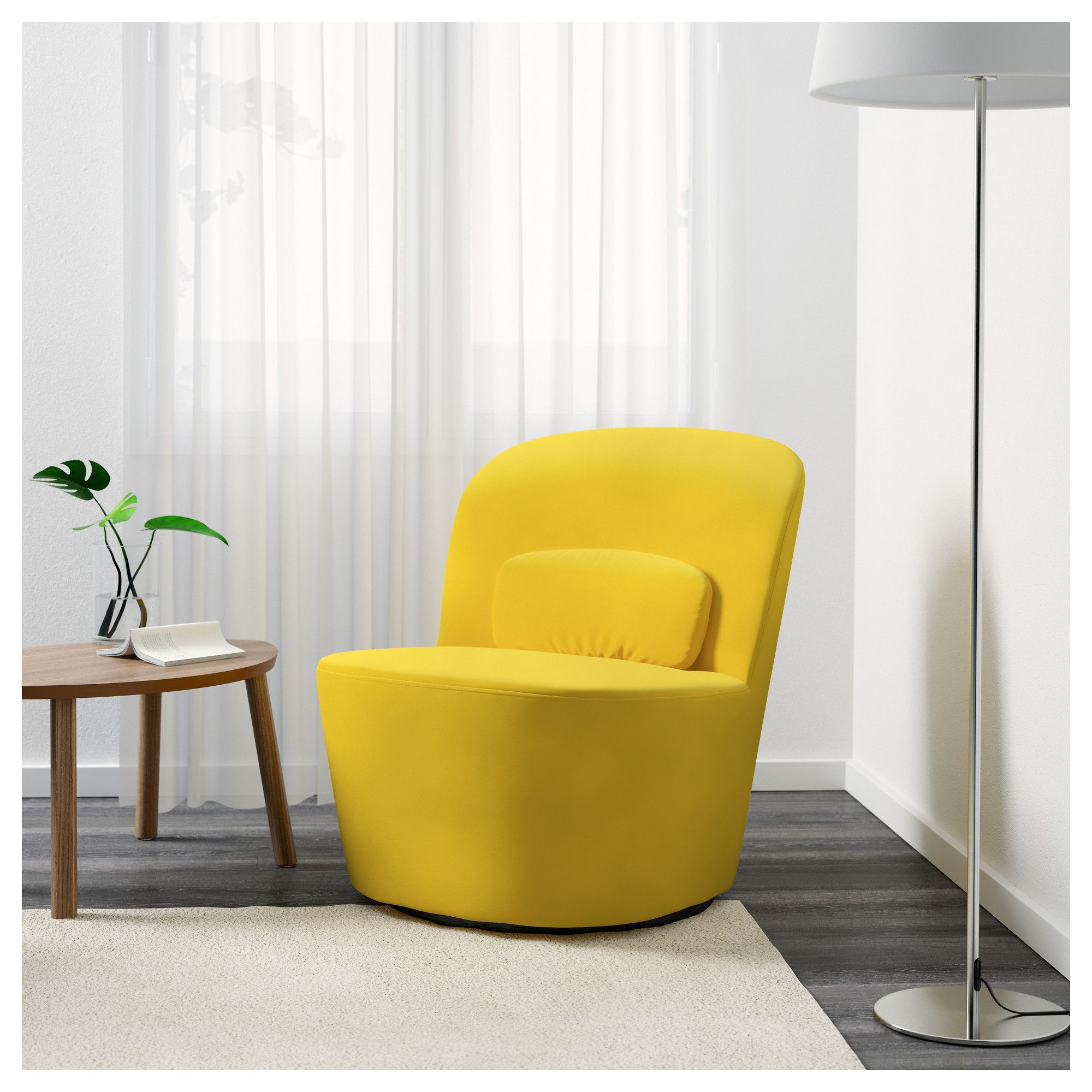IKEA STOCKHOLM swivel easy chair 10 year guarantee. Read about the ...