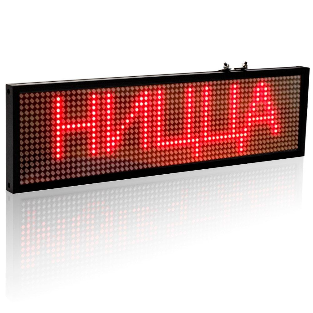 Details About 12v Car Led Sign Auto Programmable Message Display Screen Board Remote Control Led Display Board Led Signs Car Led