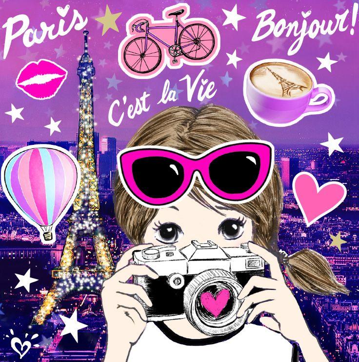 Wallpaper For Tween Girls: Paris Wallpaper, Paris