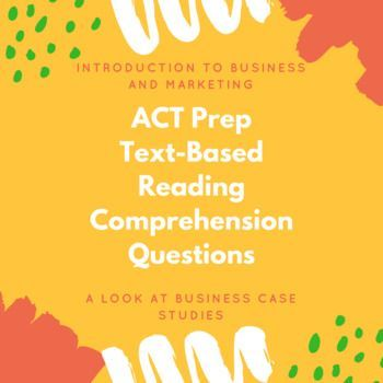 This product includes 9 quizzes with ACT style reading comprehension