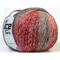 Mirage Color piros-rózsaszín-szürke