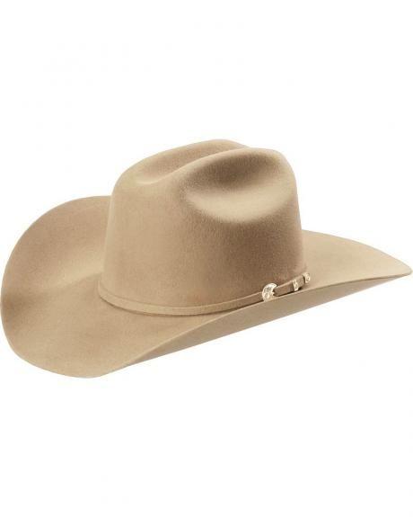 Stetson 4X Corral Buffalo Felt HatStetson Buffalo Corral hat features a 4  3 4
