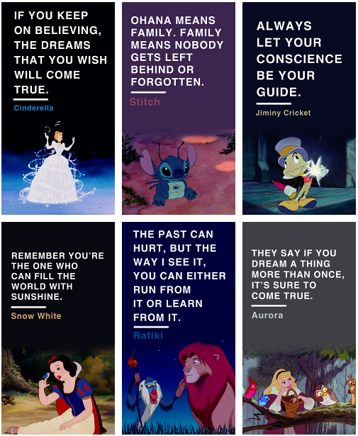 Life lessons from Disney movies