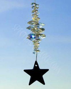 Crystal Suncatcher by spectralpeacock.com