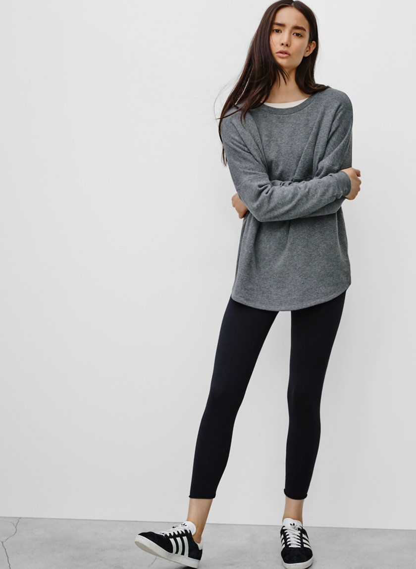 TNA EQUINOX LEGGING - Perfect fabric and fit, in a customizable cropped length