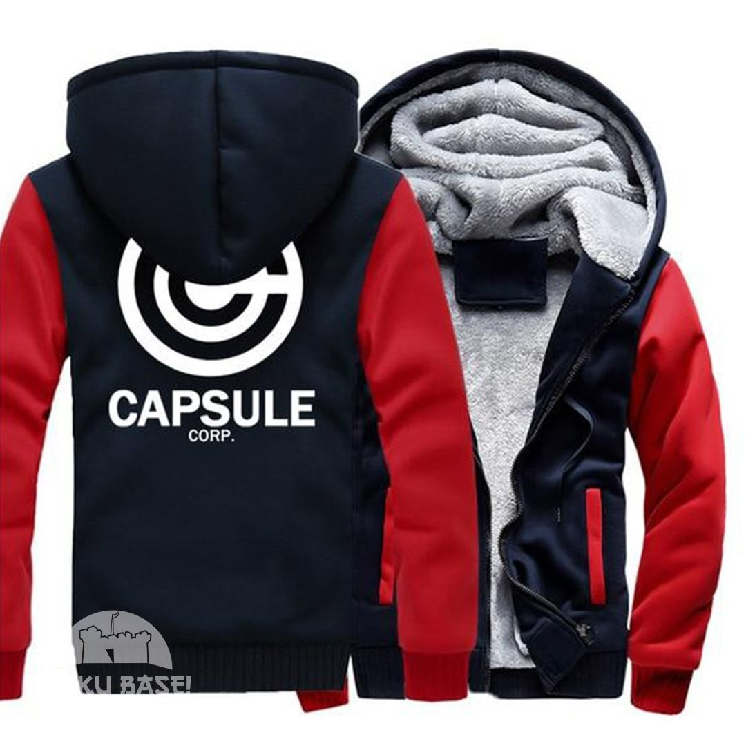 Need something warm to wear for the fall? Nothing does the job better than the Capsule Corp Fleece Hoodie.   Get yours now and receive free shipping on your order.  Save an additional 25% on your first order using promo code: OTAKULUV