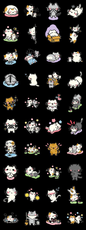 nyankoro-san.2 – LINE stickers | LINE STORE