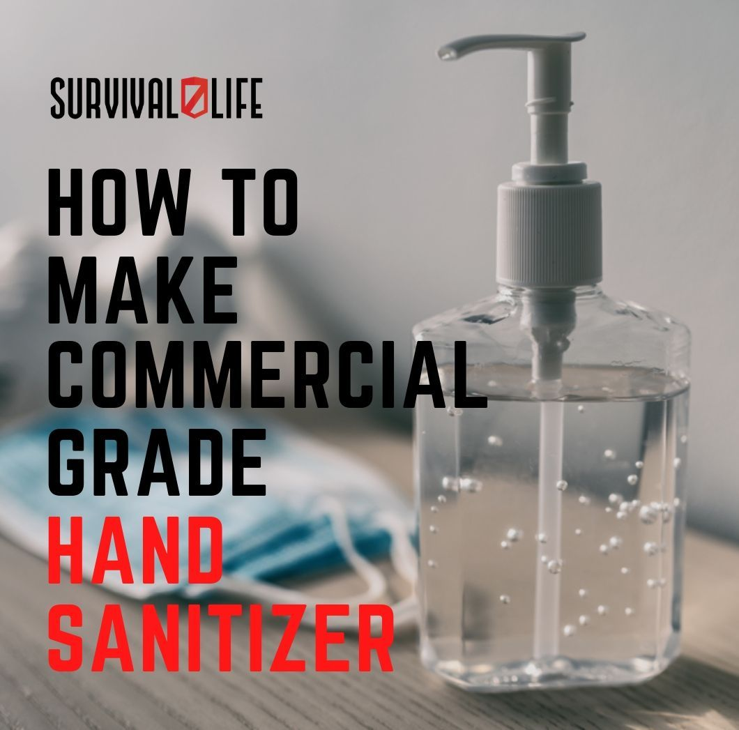 How To Make Commercial Grade Hand Sanitizer Video Hand