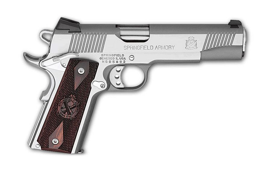 SPRINGFIELD 1911-A1 LOADED 45ACP FULL-SIZE STAINLESS @ Vance ...