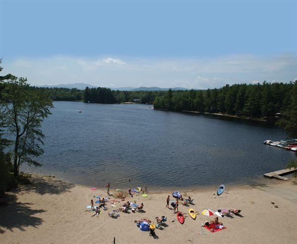 Danforth Bay Camping Resort In Freedom New Hampshire A