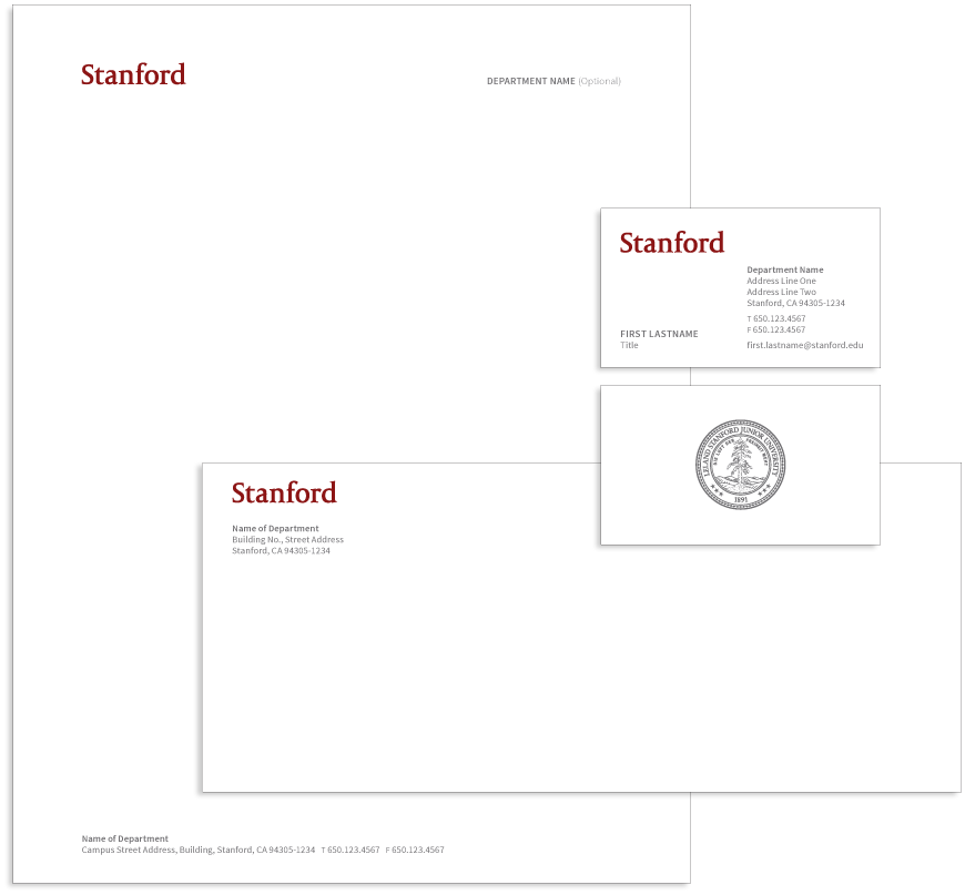 Stanford | Business Paper Design. | Pinterest | Business cards and ...