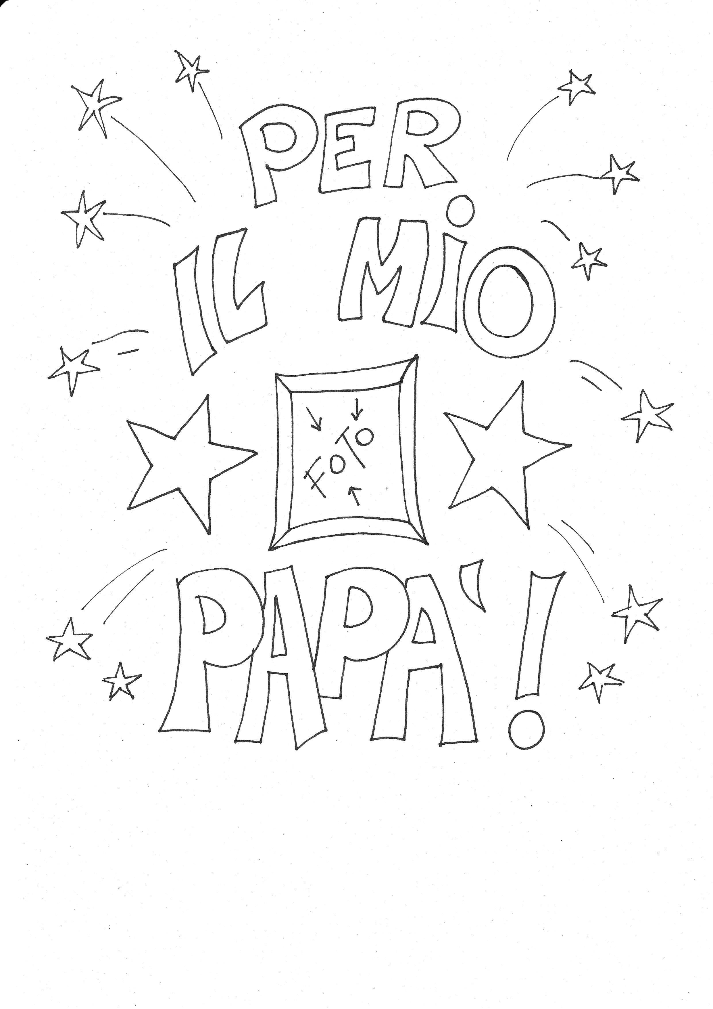 Risultati Immagini Per Festa Del Papa Lavoretti Da Colorare